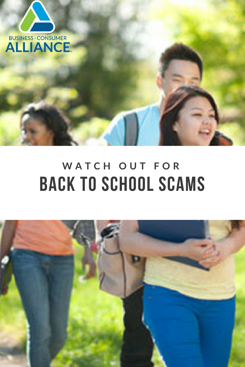 Back To School Scams