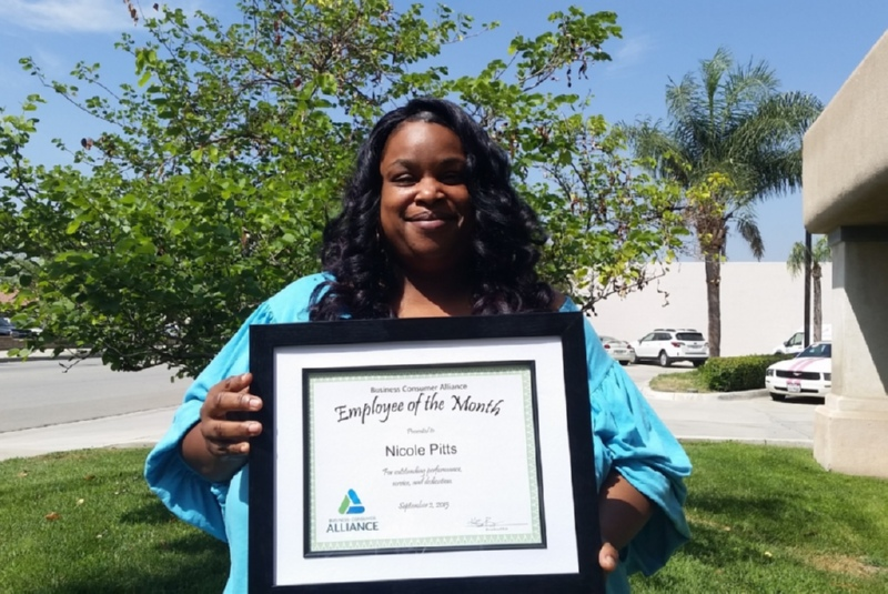 Employee Spotlight September - Nicole Pitts