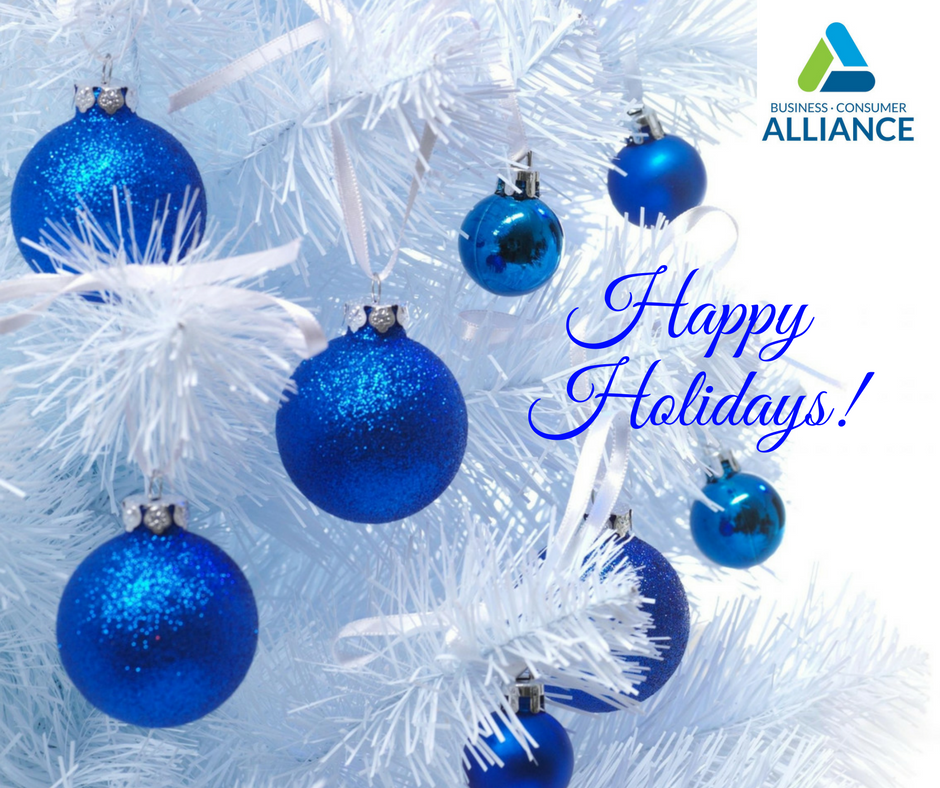 Happy Holidays to Our Members