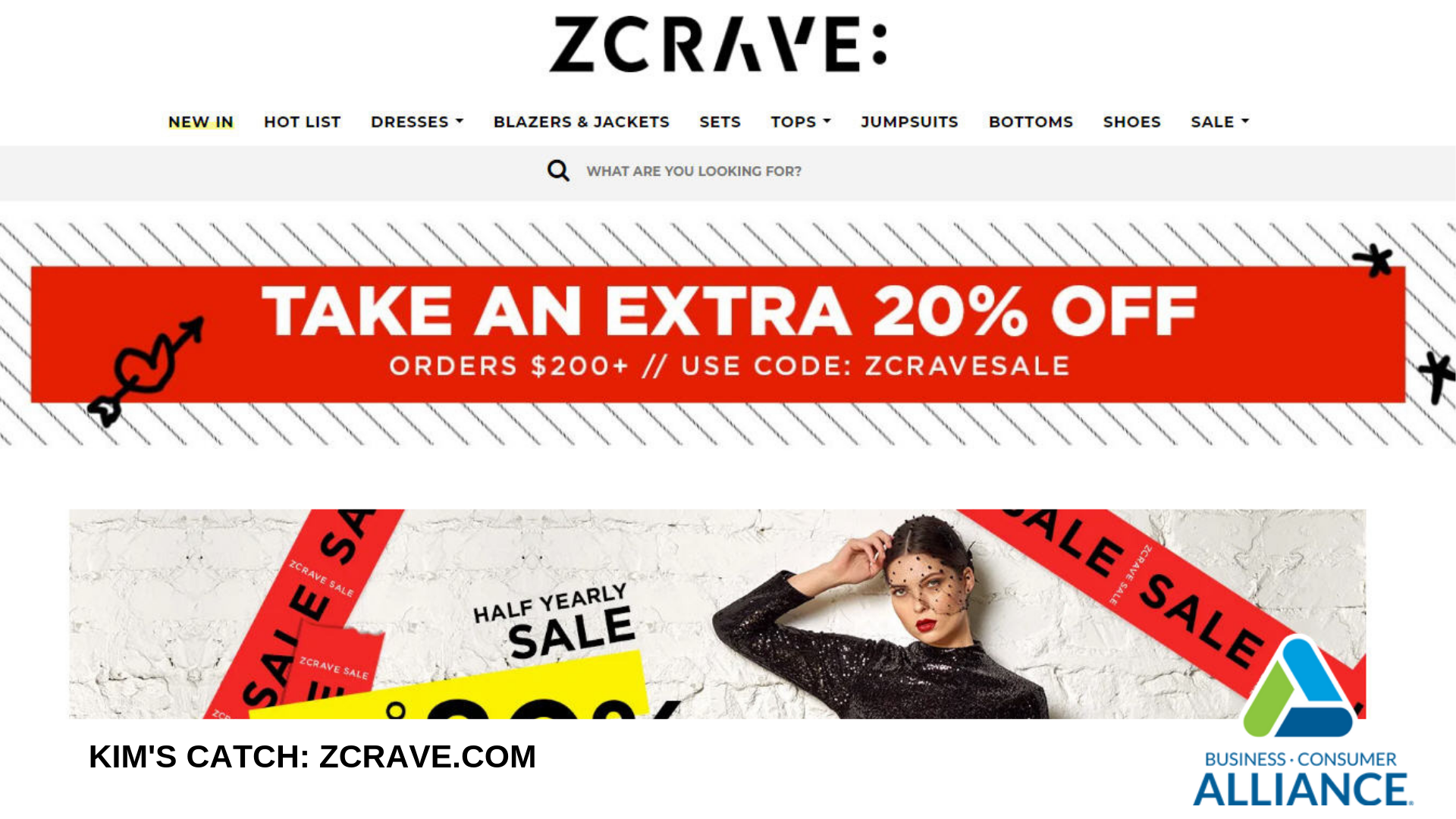 Kim's Catch:  Zcrave.com