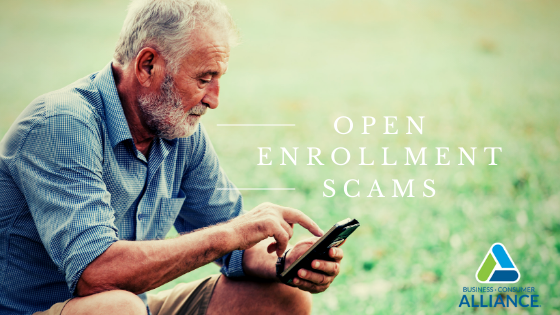 Kim's Catch:  Watch for Open Enrollment Scams