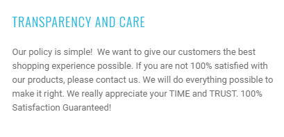 pruvia customer satisfaction guarantee