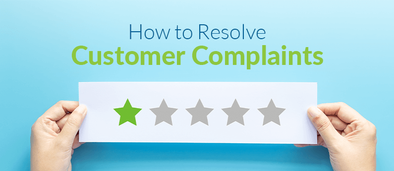 How to Resolve Customer Complaints