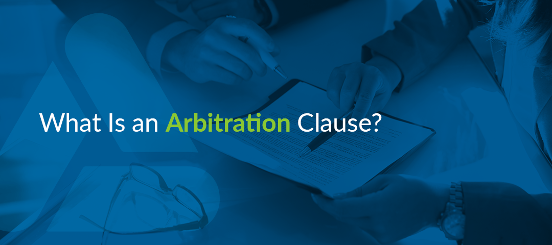 what is an arbitration clause
