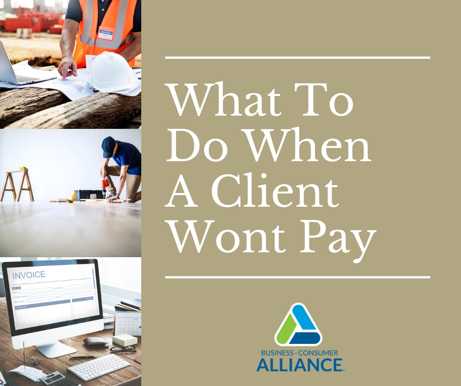 What to Do When Your Client Won't Pay