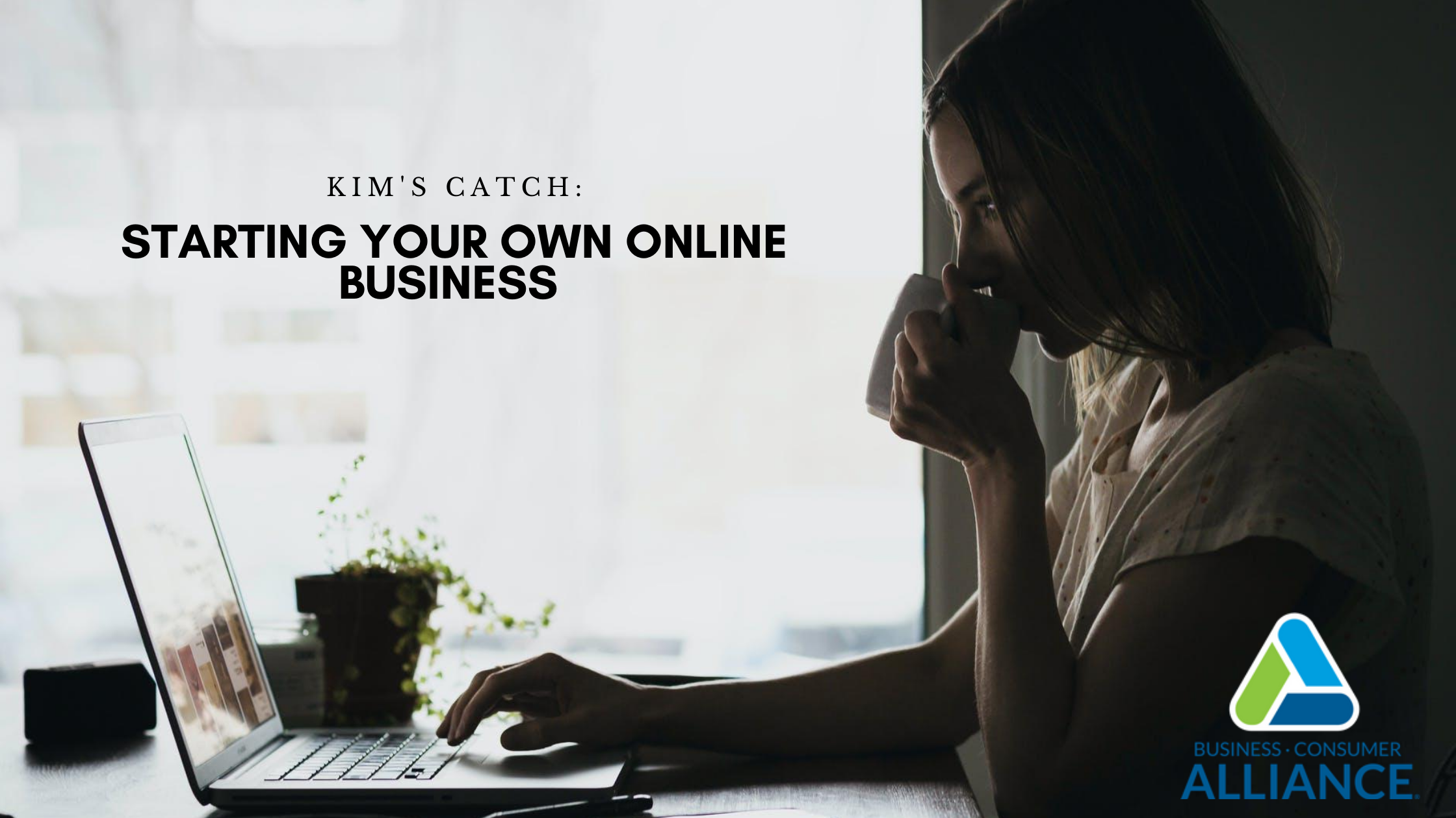 Kim's Catch: Starting Your Own Online Business